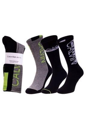 Calvin Klein Erkek  Çorap  3'lü  100002996-001