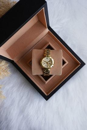 Ricardo Kadın Gold Çelik Kordon Kol Saati