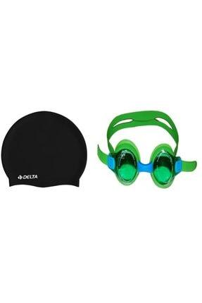 Attack Sport Çantalı Çocuk Yüzücü Gözlüğü Silikon Bone Delta 2670