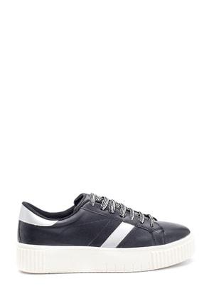 Derimod Kadın Siyah Şerit Detaylı Sneaker