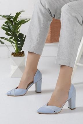Bravo Loretta Bebe Mavisi Topuklu Ayakkabı