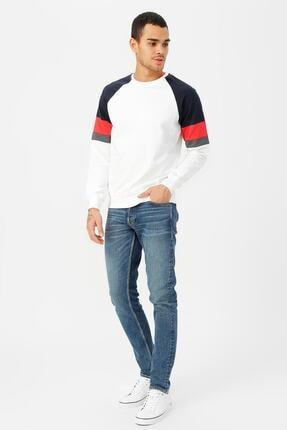 Jack & Jones Erkek Mavi Jeans