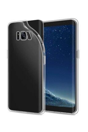Penguen Samsung Galaxy S8 (g950) Uyumlu Kamera Korumalı Şeffaf Silikon Kılıf