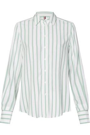 Tommy Hilfiger Danee Blouse Uzun Kollu Gömlek
