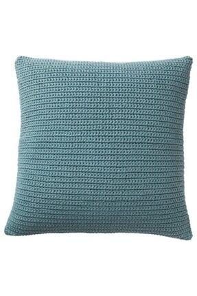 IKEA Mavi Minder Kılıfı Meridyendukkan 50x50 Cm, Adet, Su Geçirmez Astar ,fermuarlı Kılıf