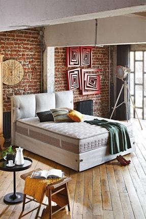 Yataş Bedding Çift Kişilik Açık Yeşil Cool Natura Baza Başlık Seti