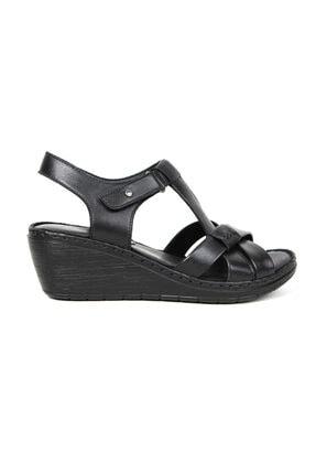 Greyder Kadın Siyah Zn Comfort Sandalet (s) 57070