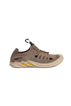 Greyder Erkek Vizon  Sandalet