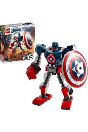 LEGO ® Marvel Avengers Klasik Kaptan Amerika Robot Zırhı 76168