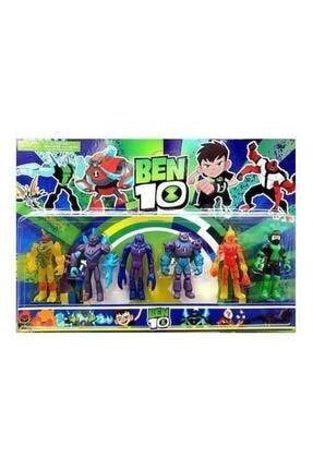 Ben 10 Allıen Force 6'lı Figür Seti, Alien Force Action Figure, Benten, Ben Ten