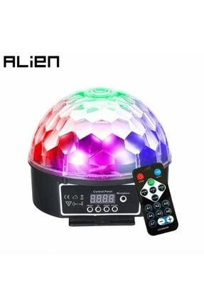 LUX Parti Malzemesi Sese Duyarlı Küre Disko Topu Müzik Çalar Renkli Işıklı Lazer