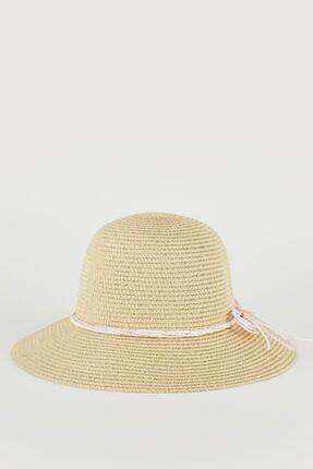 DeFacto Hasır Şapka