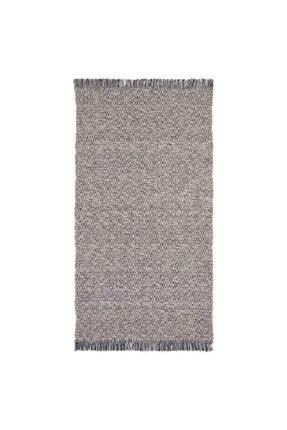 IKEA Kilim ,halı, Siyah-natürel 80x150 Cm Meridyendukkan Yıkanır Halı %100 Pamuk