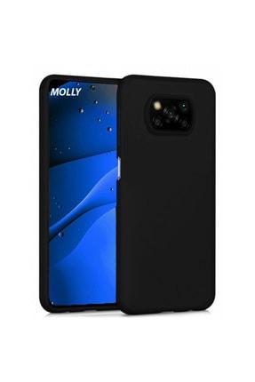 Molly Poco X3 Pro Uyumlu Siyah Mat Silikon Kılıf