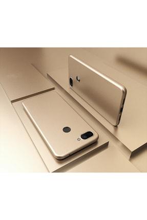 Molly Xiaomi Mi 8 Lite Uyumlu Gold Mat Silikon Kılıf