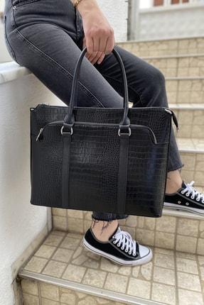 Ysmn Kadın Laptop & Evrak Çantası Siyah Yc071442skr