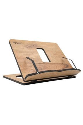 Vigo Wood Ahşap Kitap Okuma Ve Tablet Standı (Meşe)