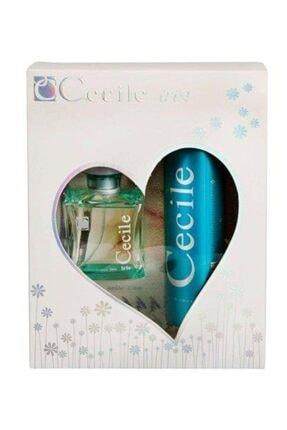 Cecile Iris Edt 100 ml 150 ml Deodorant Kadın Parfüm Seti 8698438005692