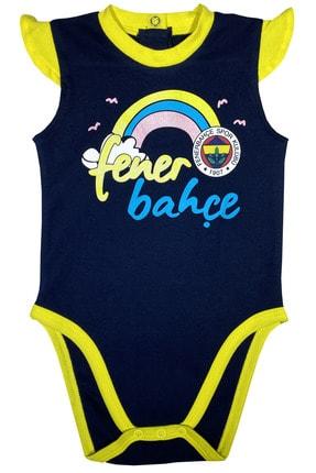 Fenerbahçe Kız Bebek Fenerbahçe Body %100 Orjinal - Fb1310