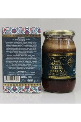 MANİSA BİRLİK (glikoz Yok Şeker Yok) Ballı Mesir Macunu 400 Gr Cam Kavanoz (bağışıklığı Kuvvetlendirir)