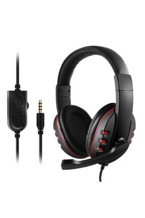 zore Gm003 3.5 Mm Jack Stereo Oyuncu Kulak Üstü Kulaklık (kırmızı) Nt-83629