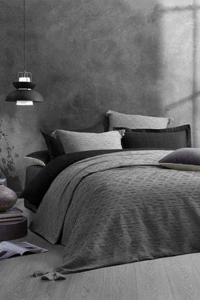 Yataş Bedding Gri Laren Çift Kişilik Yatak Örtüsü Seti