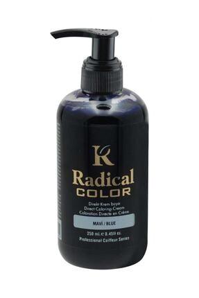 Radical Color Su Bazlı Saç Boyası 250 ml Mavi 8680035540959