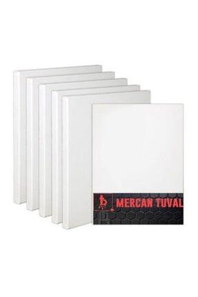 Mercan Tuval 50x70 Cm 5'li Paket 50705