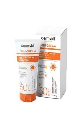 Dermokil Sun Cream-çok Yönlü Yüksek Koruyucu Güneş Kremi50 Spf 75 ml
