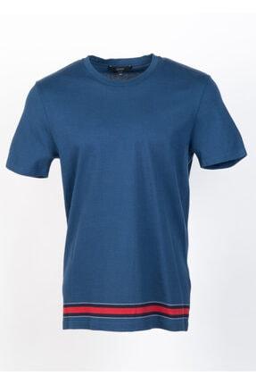Gucci Erkek Mavi T-shirt
