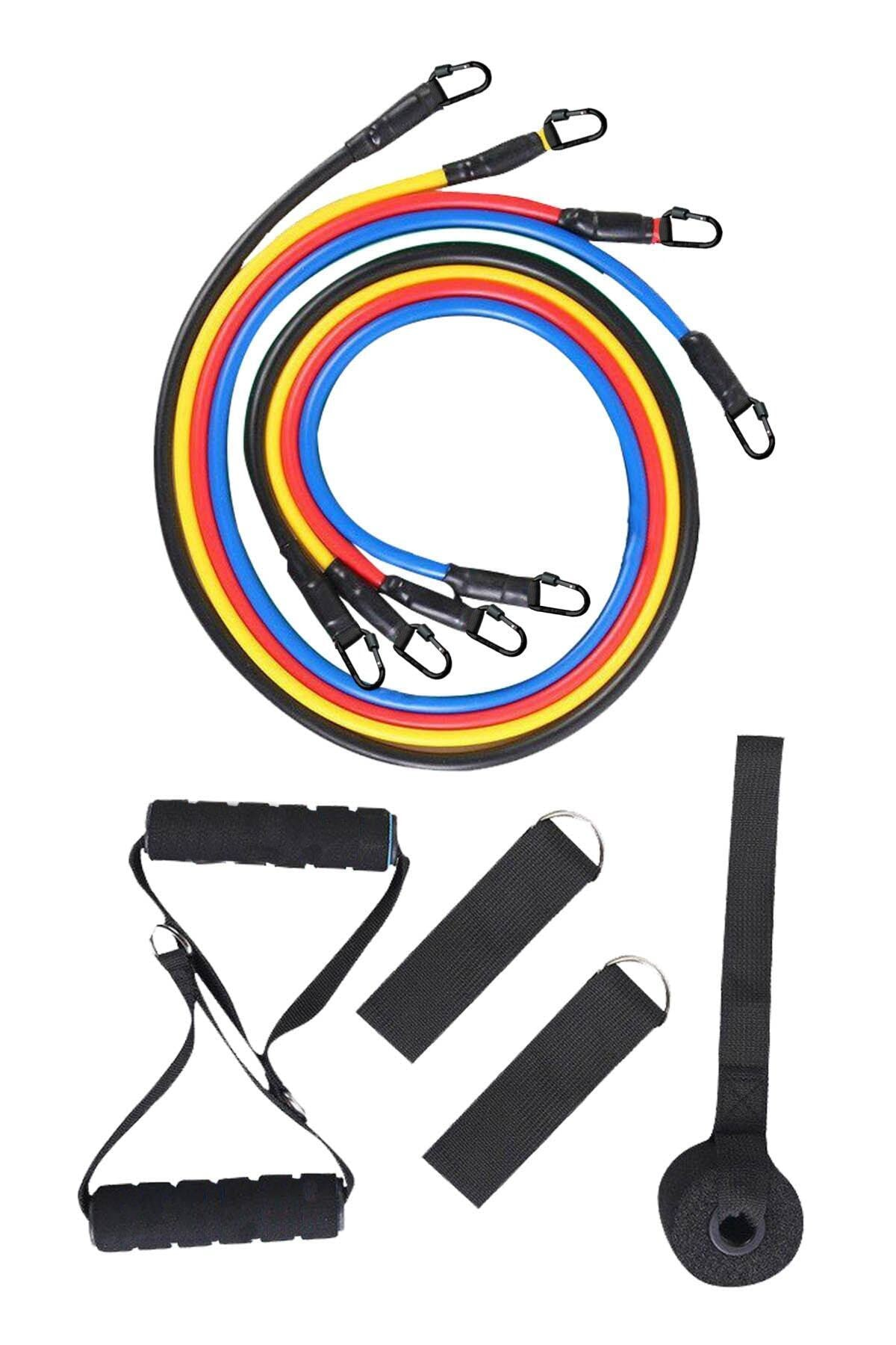 Köhler 10'lu Pilates Direnç Lastiği Seti 1