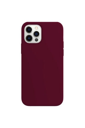 Buff Iphone 12 Pro Max Rubber S Kilif Plum
