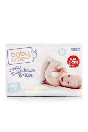Baby&Me Pofuduk Alt Değiştirme Örtüsü 40 Adet 60*60 BAE-70089