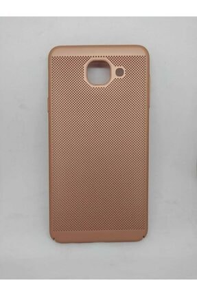 Penguen Samsung Galaxy J7 Max (g615)uyumlu Sert Plastik Delikli Kılıf