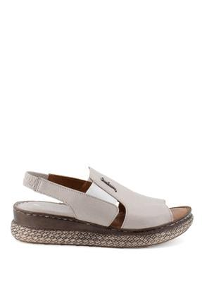 Pierre Cardin Kadın Vizon Sandalet