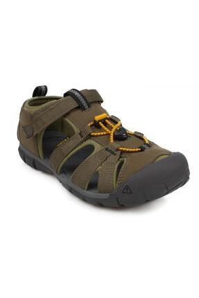 Keen Kadın  Haki Düz Topuklu Sandalet