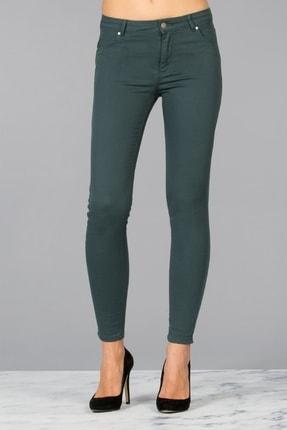 Colin's Kadın Yeşil Düz Pantolon