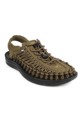 Keen 1014097 Uneek Outdoor Haki Erkek Sandalet