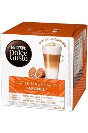 Nescafe Dolce Gusto Latte Macchıato Caramel New Extra Cremoso
