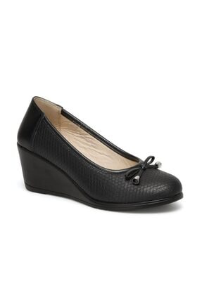 Polaris Kadın Siyah Dolgu Ayakkabı 317181.z 1fx