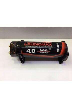 AUDİOMAX Mx-104 4 Farad Power Kapasitör Güçlü Tesisatlar Için Üretilmiştir Akünüze Kıymayın!