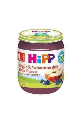 Hipp Boze Organik Yabanmersinli Elma Püresi 125 Gr