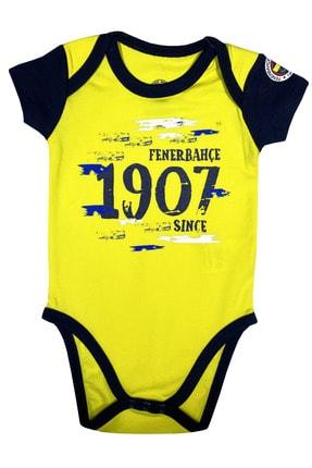 Fenerbahçe Bebek Fenerbahçe Kısakol Body %100 Orjinal - Fb1314