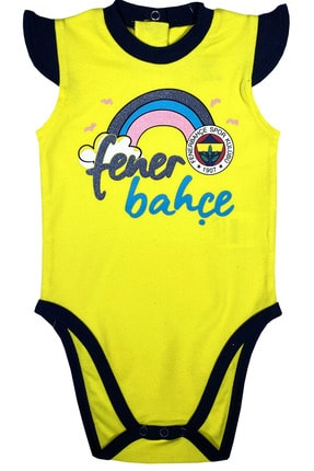 Fenerbahçe Fenerbahçe Kız Bebek Body %100 Orjinal - Fb1311