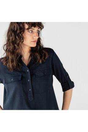 Lacoste Kadın Lacivert Gömlek CF0102T