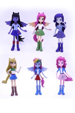 MY LITTLE PONY Kızlar Equestria Girls 6 lı Karakter Seti