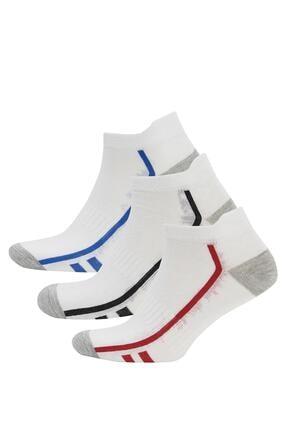DeFacto Erkek Patik Çorap 3'lü