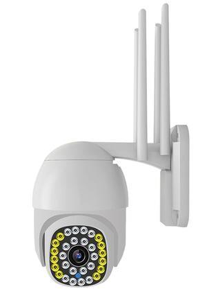 Kingboss 1080p Speed Dome Ptz 4mp Dış Mekan Ip-31 Kamera 4 Anten