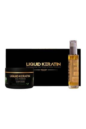 Liquid Keratin Kuru Saçlar İçin Keratin Saç Bakım Seti