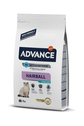 Advance Hairball Kısır Kedi Maması 3 Kg